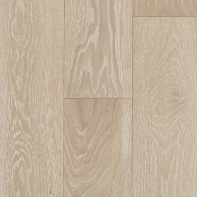 Wire Brushed Linen White Oak 5""