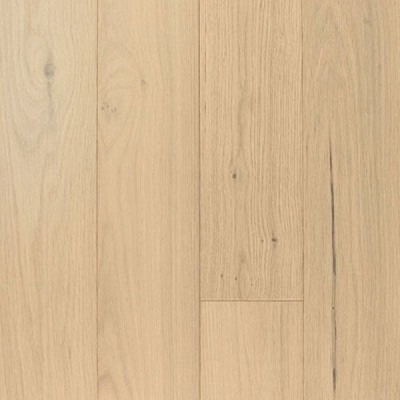 Hand Scraped Glacier White Oak 6""