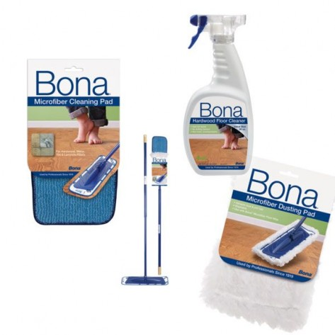 Bona Cleaning Kit - Dust Mop & Cleaning Spray