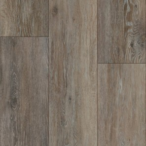 Hand Scraped Alabaster Oak Vinyl Plank 7""