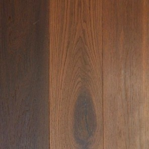 Wire Brushed Unfinished Golden Oak 10""