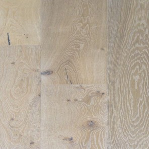 Wire Brushed New England White Oak 10""