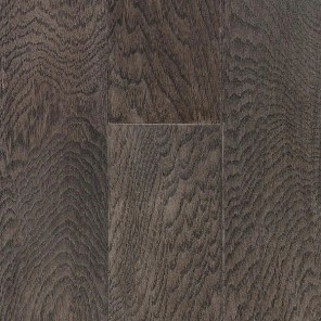 Hand Scraped Pewter Hickory 5""