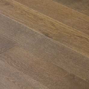 Wire Brushed Ambassador Brown White Oak 6.5""